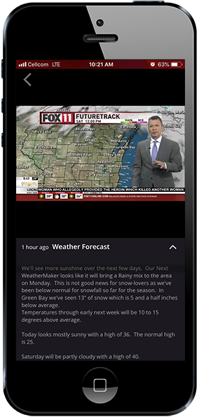 Latest Forecast Video