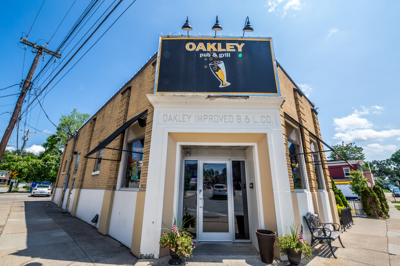 PLACE: Oakley Pub & Grill / ADDRESS: 3924 Isabella Avenue (Oakley) / OPG's Hawaiian-style veggie burger is topped with grilled pineapple, sriracha, mayo, and pepper jack. / Image: Catherine Viox // Published: 7.2.19