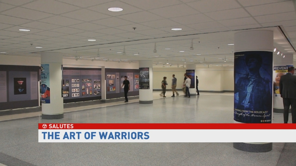 ABC7 Salutes: Wounded Warrior Healing Arts Program | WJLA