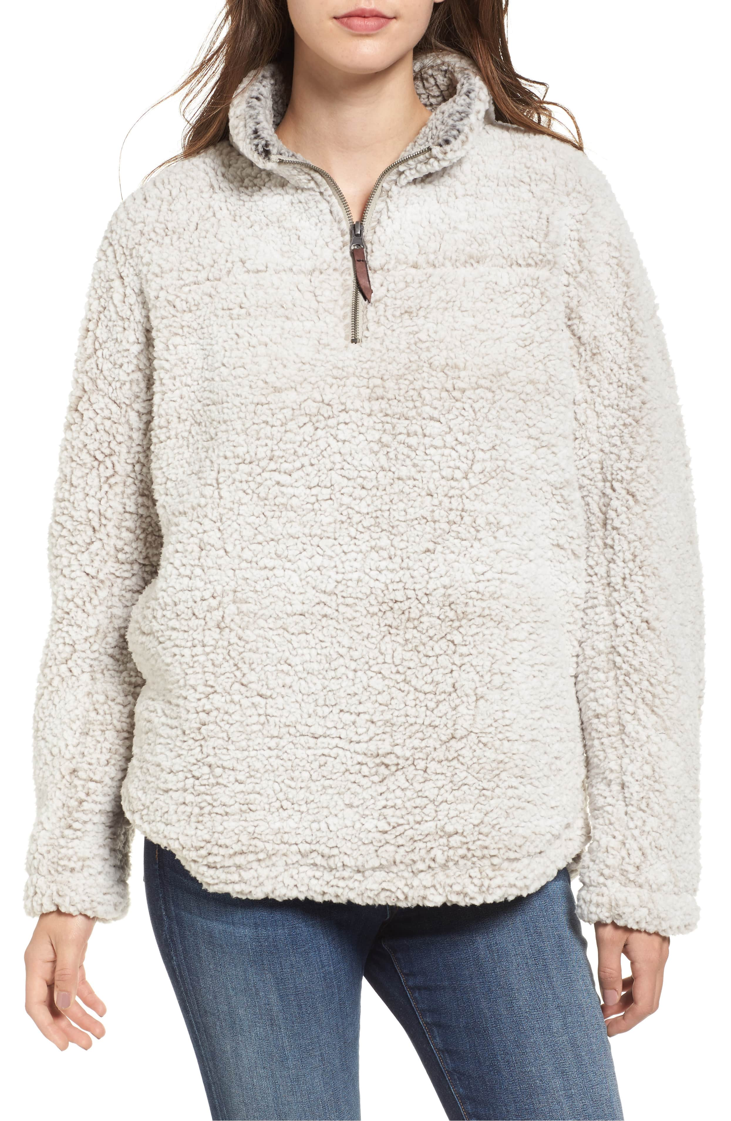 <p>This Wubby Fleece Pullover from THREAD & SUPPLY couldn't be any cozier and will make for killer Instagram pics. $78 (Image: Nordstrom)</p><p></p>