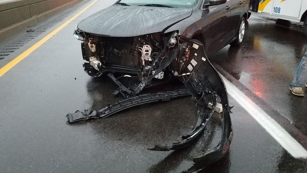 Paducah woman injured after car hydroplanes (Source - McCracken County Sheriff's Department).jpg