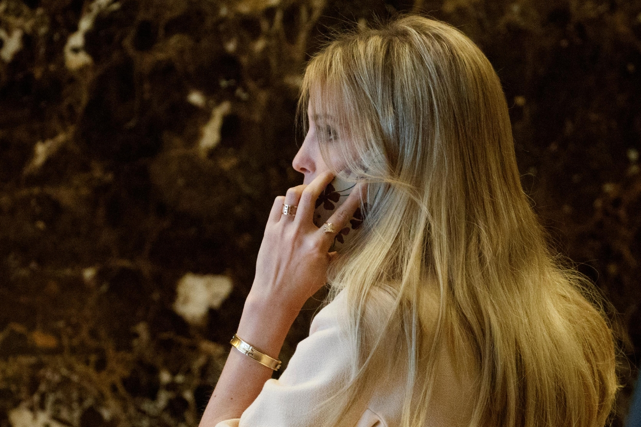 FILE - In this Nov. 11, 2016 file photo, Ivanka Trump, daughter of President-elect Donald Trump, arrives at Trump Tower in New York. Ivanka Trump is poised to give the typically minor role of first daughter a major makeover. After playing an outsize role on the campaign trail for President-elect Donald Trump, the 35-year-old's next moves are being closely watched. She's been attending transition meetings with high profile figures like Japanese prime minister and Kanye West, has started calling congress members about issues she advocated on the campaign trail and recently made a scouting trip to Washington. (AP Photo/ Evan Vucci, File)