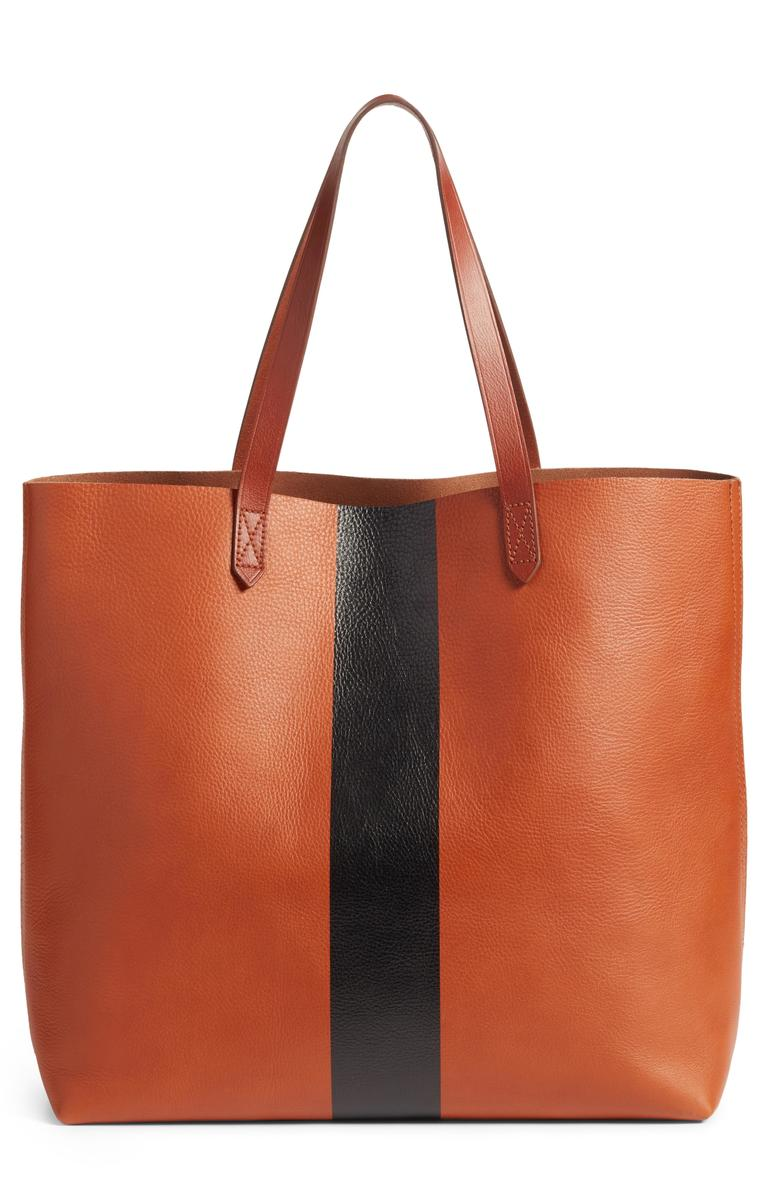Madewell Paint-Stripe Transport Tote - $129.90 (after sale $198) (Image: Nordstrom)