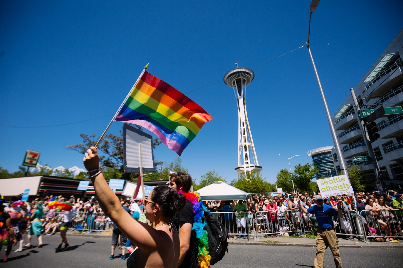 "2016 Seattle Pride Parade. We're celebrating what would have been the weekend of the{&nbsp;}<a  href=""https://www.seattlepride.org/"" target=""_blank"" title=""https://www.seattlepride.org/"">Seattle Pride Parade</a>{&nbsp;}with a look back at parades past and remembering all the joy and love they have brought our city! If you're missing it as much as we are - join in virtually!{&nbsp;}<a  href=""https://www.seattlepride.org/events/together-for-pride-seattles-virtual-pride"" target=""_blank"" title=""https://www.seattlepride.org/events/together-for-pride-seattles-virtual-pride"">Together For Pride - Seattle's Virtual Pride</a>{&nbsp;}event is being held Friday to Sunday, June 26-28, with speakers, performances and activities. See you next year! (Image: Joshua Lewis / Seattle Refined)"