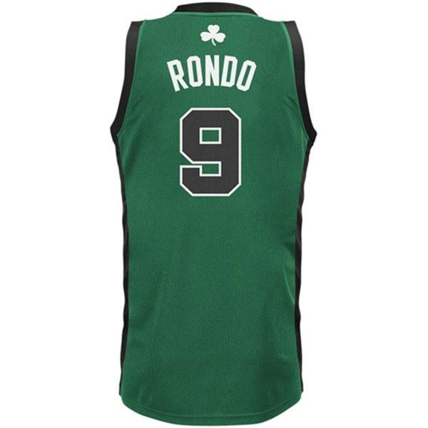 He's one of the remaining stars in Boston, but Rajon Rondo is a top seller.