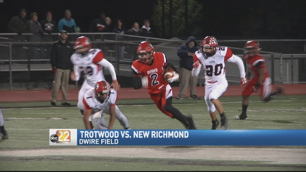 Trotwood triumphs over New Richmond, Rams win with ease