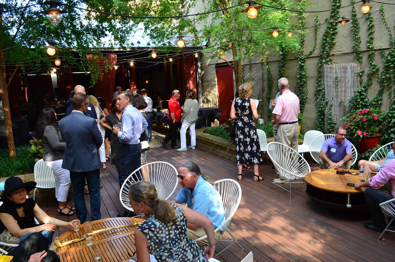 The Lindner Center of Hope (LCOH) held its annual fundraiser/employee party at Kaze in Over-the-Rhine on Sunday, August 13. For those who aren't familiar, LCOH is a comprehensive mental health facility located in Mason. / Image: Leah Zipperstein, Cincinnati Refined // Published: 8.13.17