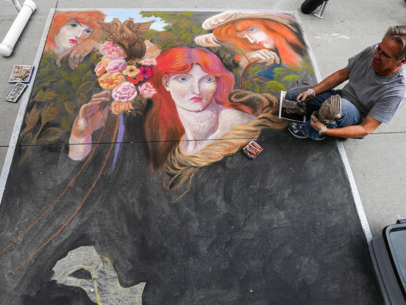 The Reno Chalk Art Festival is being held on Saturday, July 9, and Sunday, July 10, 2016. (Photo courtesy: Michael Rieger)