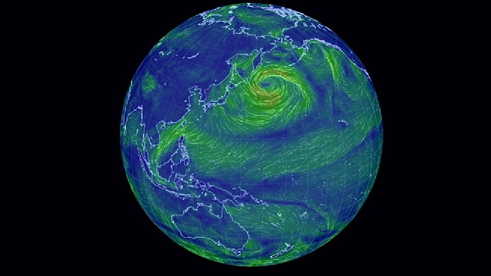 Interactive web site allows you to easily visualize earths wind interactive web site allows you to easily visualize earths wind patterns gumiabroncs Choice Image