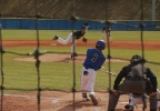 Kyle Carruthers hits a homerun Saturday (WLOS Staff).jpg
