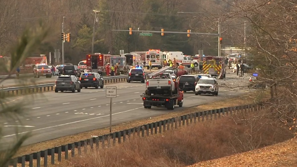 Two dead in 12-vehicle crash on Harford Co 's Rt  24 | WBFF