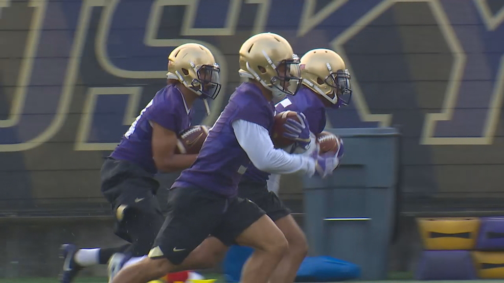 Watch: UW Husky Football begins spring practice