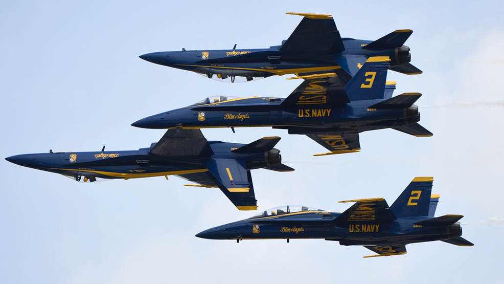 The Blue Angels announce the 2019 Officers! | WEAR