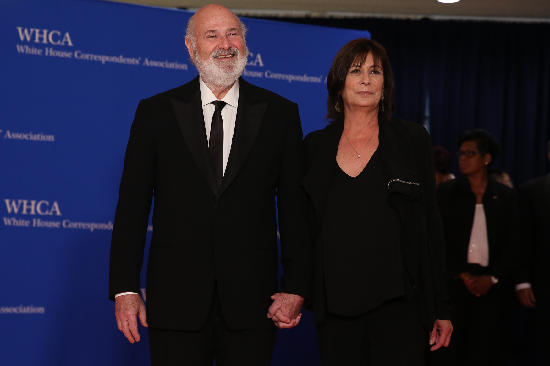 Rob and Michele Reiner.{ }(Amanda Andrade-Rhoades/DC Refined)