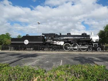 Atlantic Coast Line Railroad Locomotive #1504. Provided