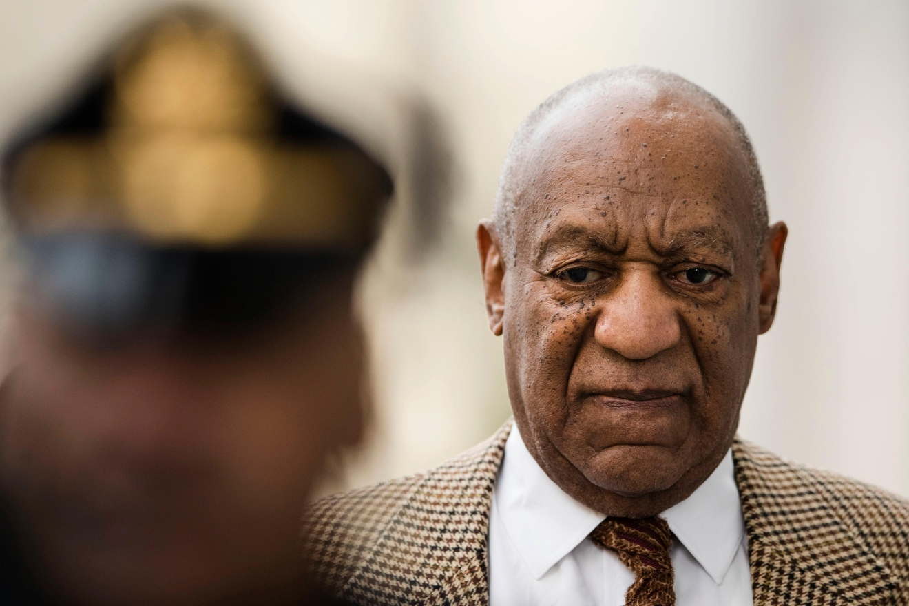 Bill Cosby arrives for a pretrial hearing in his sexual assault case at the Montgomery County Courthouse in Norristown, Pa., Tuesday, Dec. 13, 2016. Lawyers for Cosby will battle in court to try to limit the number of other accusers who can testify at the comedian's sexual assault trial. (AP Photo/Matt Rourke)