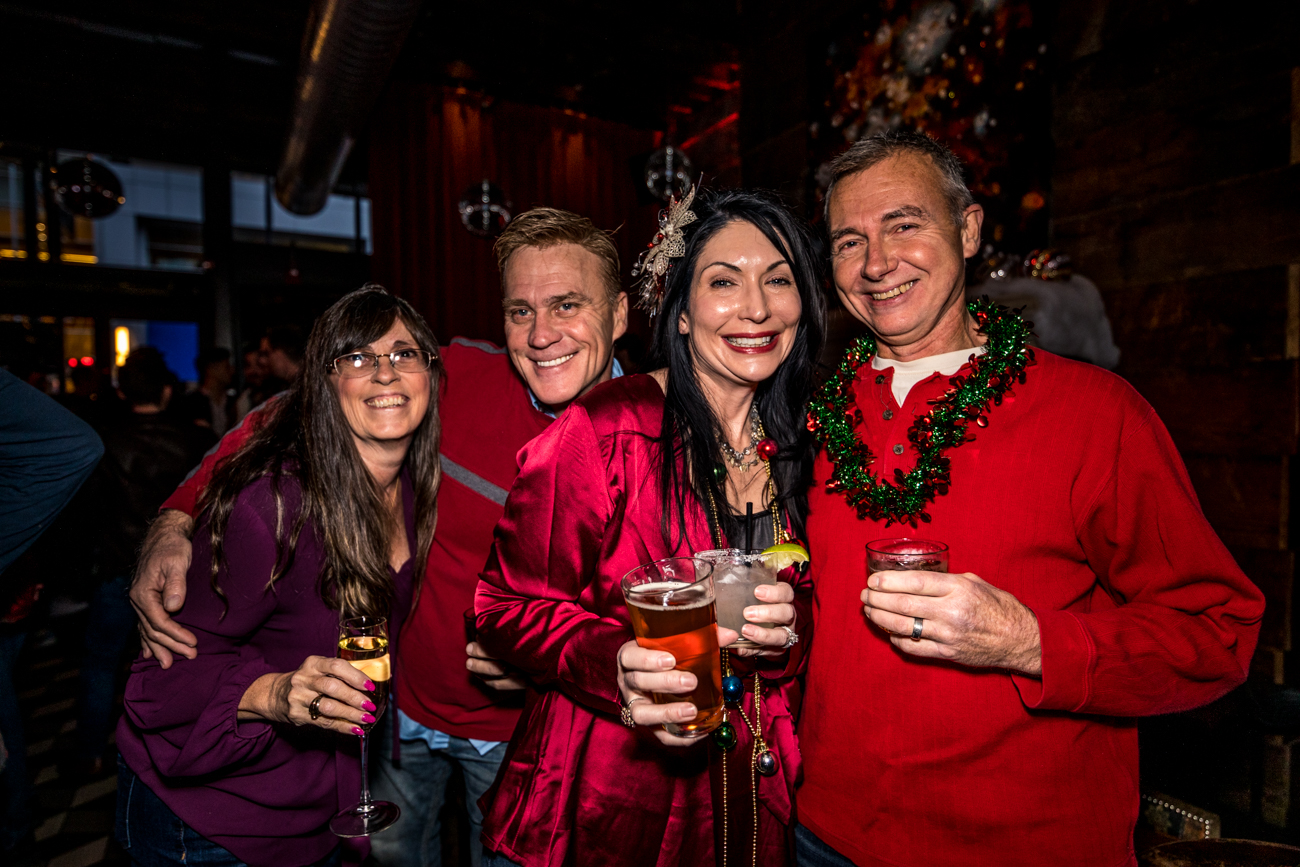 Karen Allen, Richard Moore, Lisa Wilson and Jim Clayton / Image: Catherine Viox{ }// Published: 12.2.19