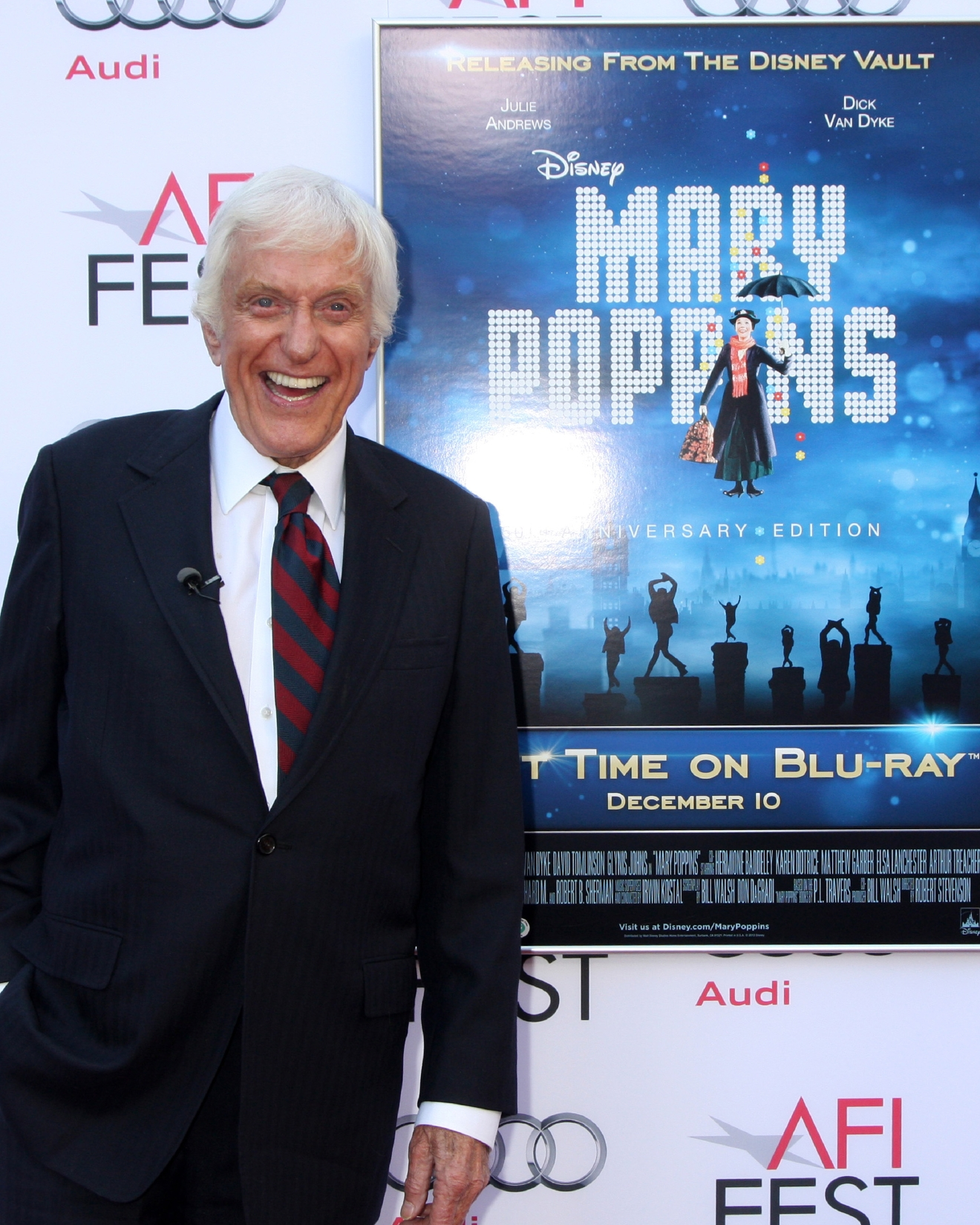 Mary Poppins 50th Anniversary Screening at AFI Fest at TLC Chinese Theater                                    Featuring: Dick Van Dyke                  Where: Los Angeles, California, United States                  When: 10 Nov 2013                  Credit: Nikki Nelson/WENN.com