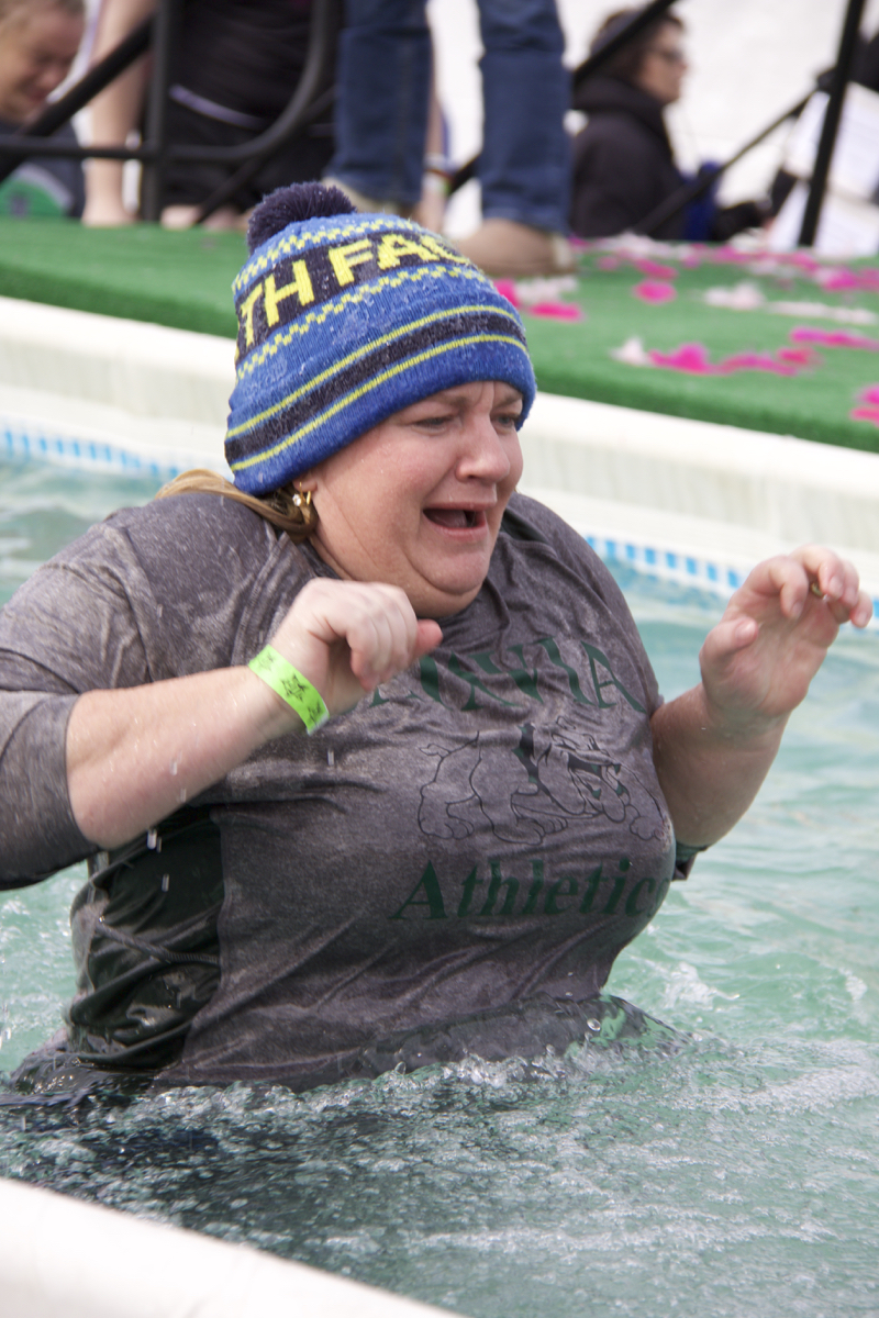The 2017 Polar Plunge celebrated its 19th year of sending willing victims into a pool of of water in the middle of winter. The event took place on Saturday, Feb. 4 at Joe's Crab Shack in Bellevue, Ky. Money raised from the event goes on to support the Special Olympics of Kentucky. / Image: Dr. Richard Sanders