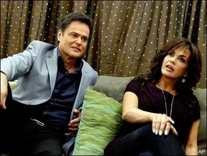 Donny and Marie Osmond (KSNV file)<p></p>