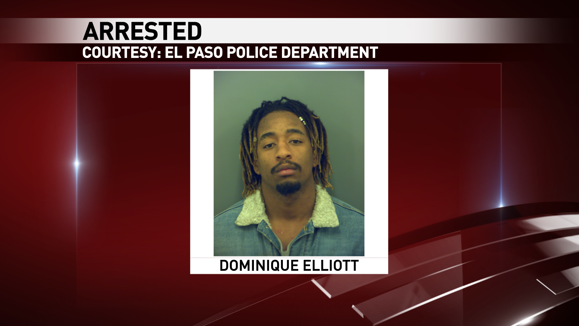 Dominique Elliot, 21, had an outstanding warrant for a sexual assault charge.