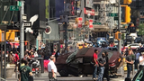 1 dead, dozens injured after car speeds onto Times Square sidewalk