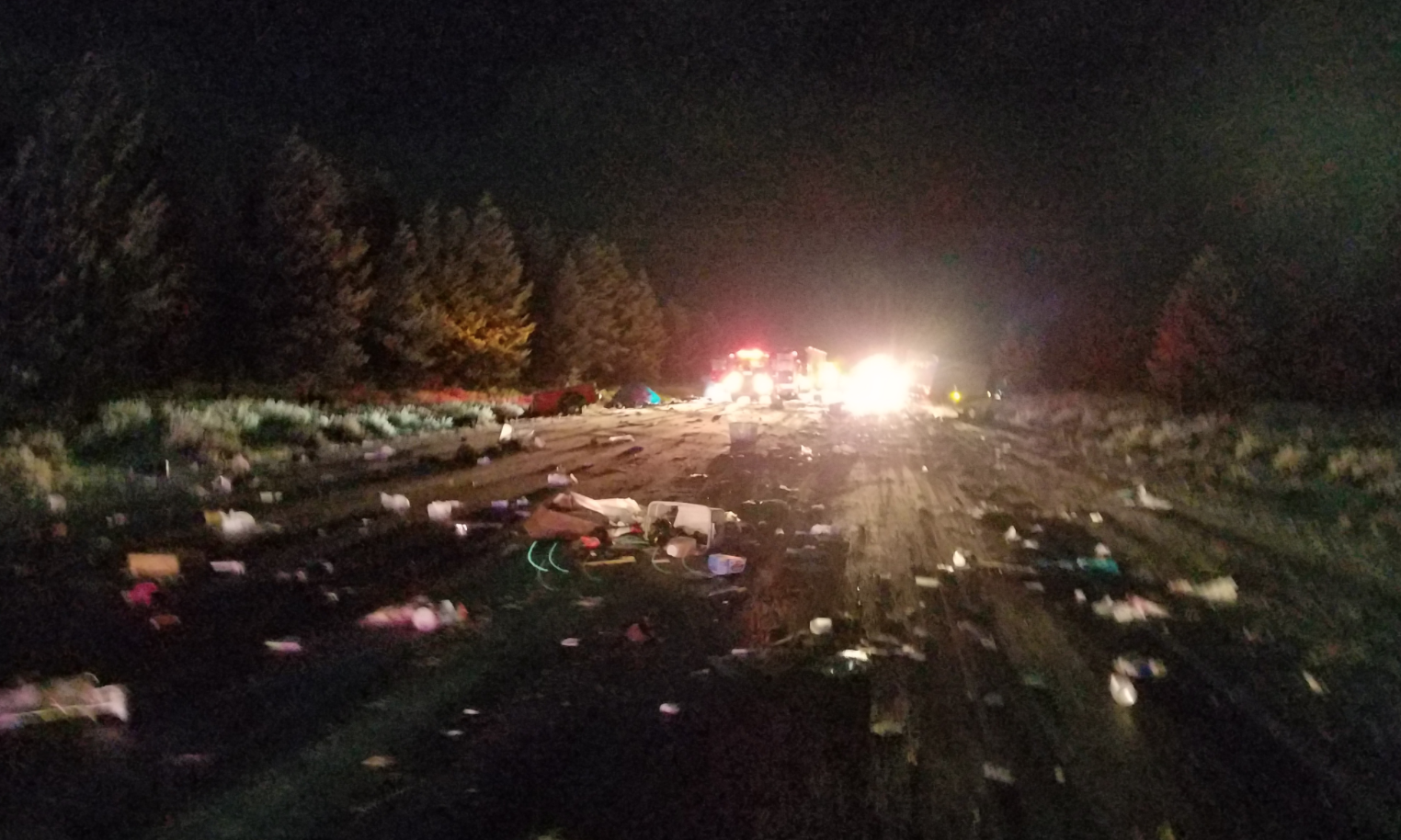 A man from Bend died in a head-on collision in Klamath County, Sunday night. (Oregon State Police)