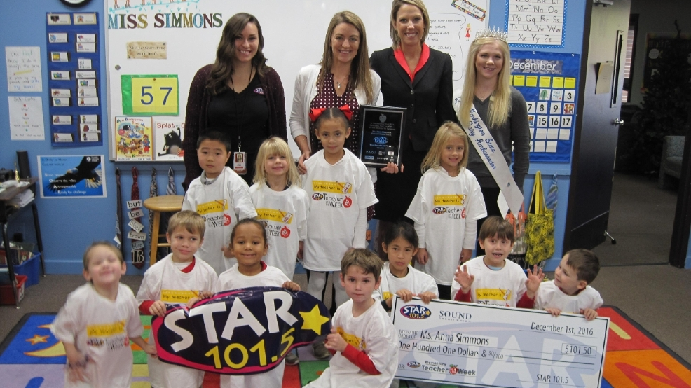 101.5 SANTA FM's Teacher of the Week: Ms. Anna Simmons