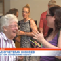 100-year-old World War II veteran honored in Walnut Bottom