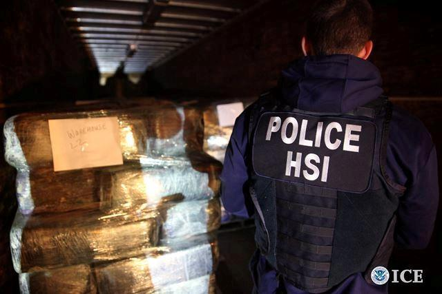 The drugs are loaded onto a truck to be destroyed.