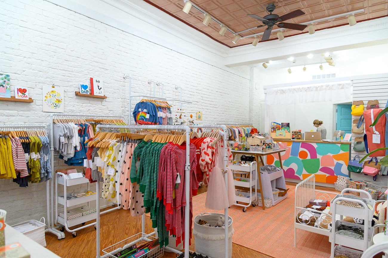 Instead of seeing an empty storefront, Brittney and Suzy decided to open the concept to appeal to a different demo of potential Pike Street shoppers. The choice to start the baby products business was inspired by the birth of Brittney's own child. The shop formally opened in October 2019 and sells clothes, accessories, and gifts for children aged 0 to 5 years old. It also has its own online companion store. ADDRESS: 15 W. Pike Street (41011) / Image: Phil Armstrong, Cincinnati Refined // Published: 12.18.19