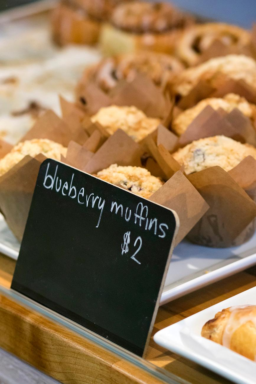 Blueberry muffins / Image: Allison McAdams // Published: 2.7.19