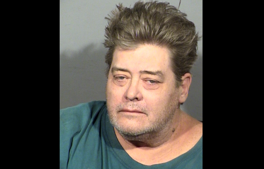 Brett Sporich was taken into custody after bringing a gun on a Las Vegas bus (LVMPD/KSNV)
