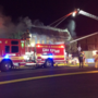 Downtown Las Vegas office building destroyed in overnight fire