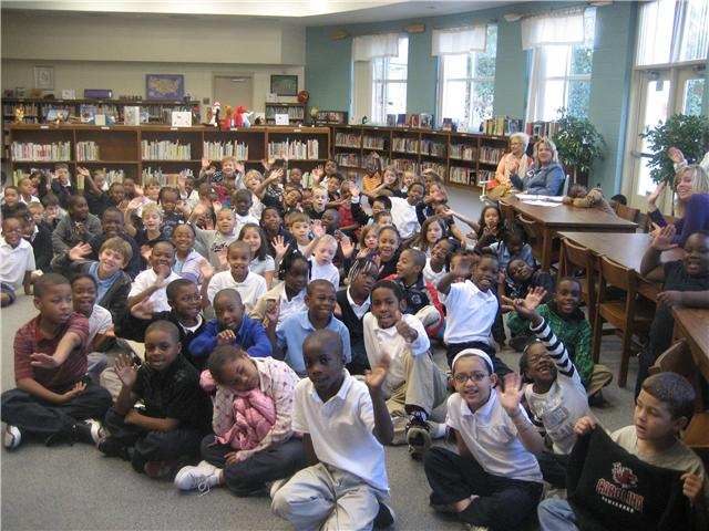 10/5/10...Rice Creek Elementary School Second Graders