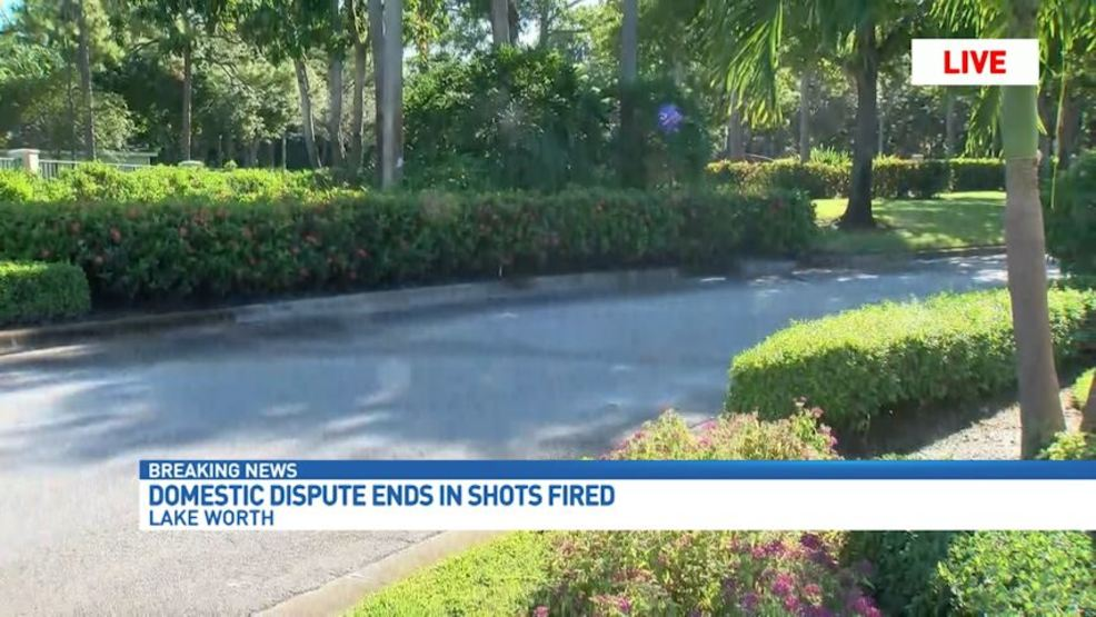 Shots Fired In Domestic Squabble In West Palm Beach