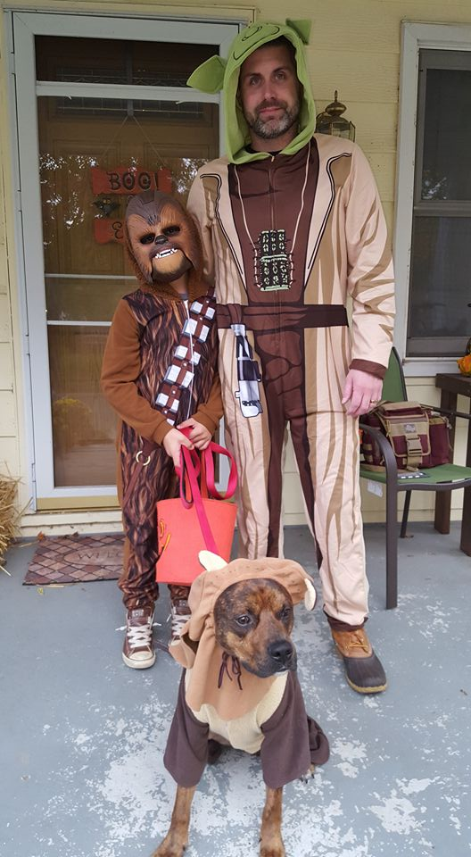 Star Wars family. Submitted by Ashley Traucht