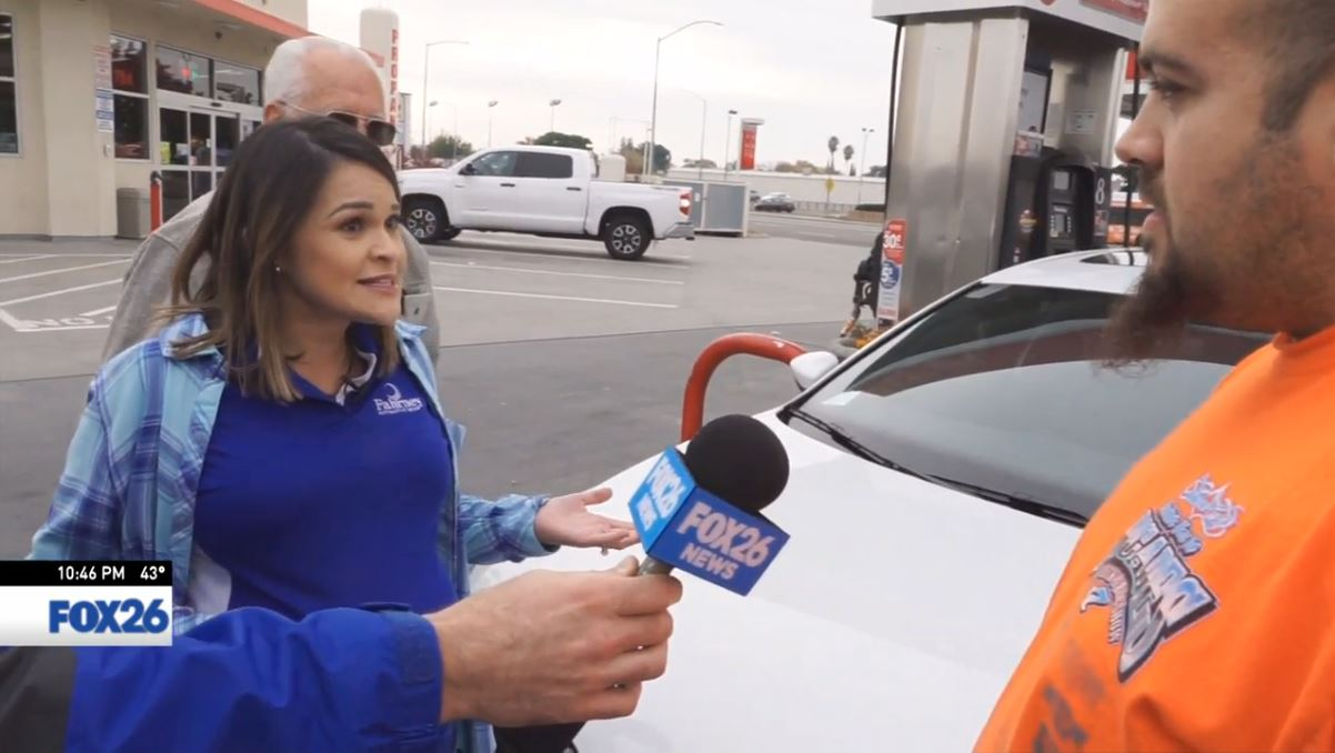 Sophia tells Nick Fahrney Automotive is going to pay for his gas