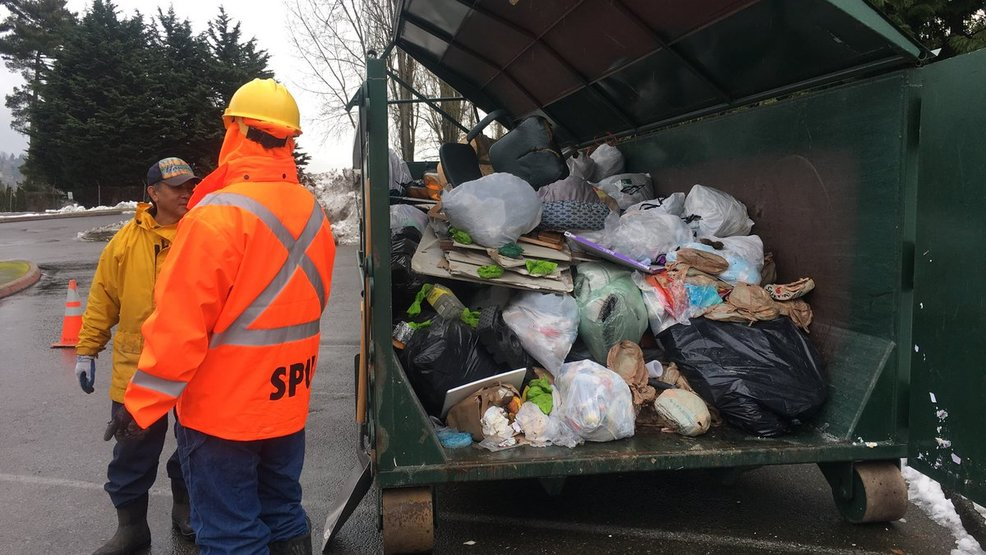 Dump trash in designated Seattle areas for free this weekend