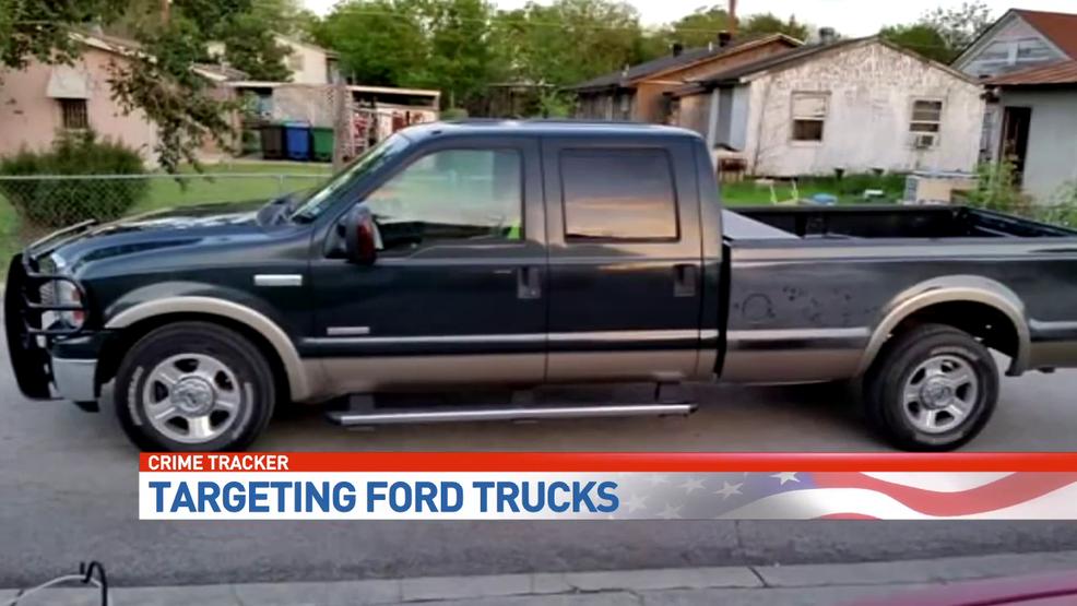 ford pickups are the favorite of san antonio auto thieves | woai