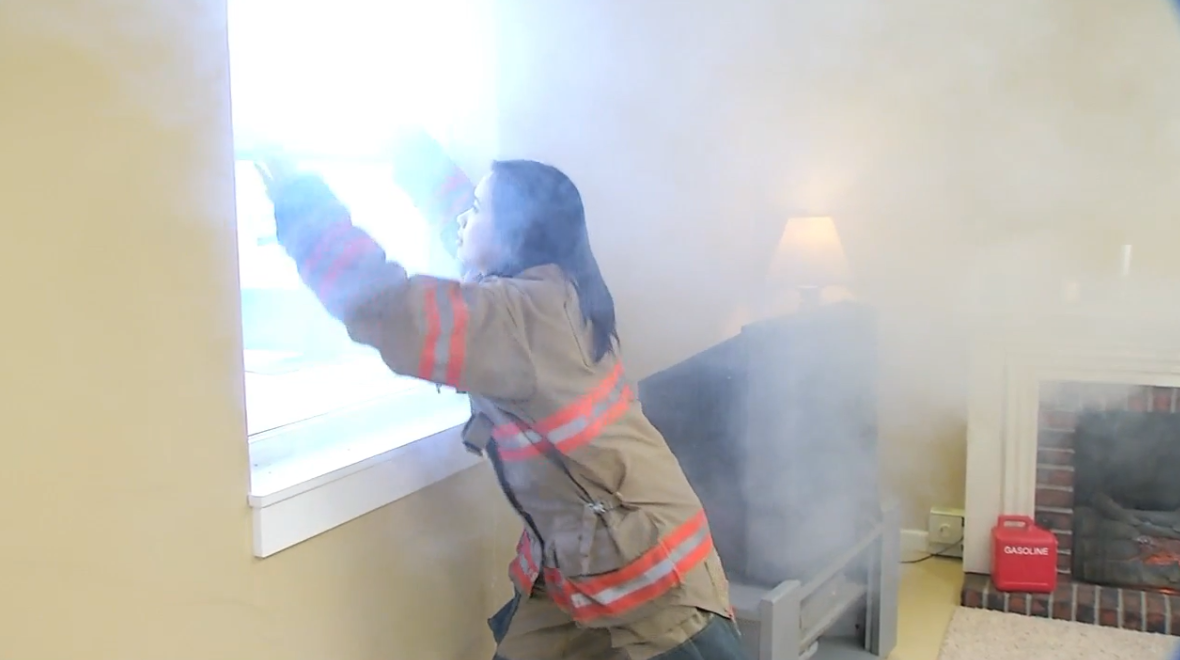 Now with Fire Safety Week, the fire department is pushing one theme: Two-ways-out. (WRSP)