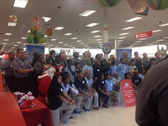 OCPD Police Athletic League and Target hosted a Heroes & Helpers shopping event to help children involved in the PAL program purchase holiday gifts for their families.