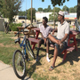 Thirteen year old girl gets new bike after man steals it