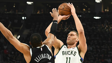 Brook Lopez had 14 points to go along with four blocks.