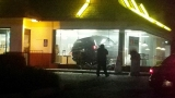 Police Still Searching For Woman Who Drove Van Into McDonald's