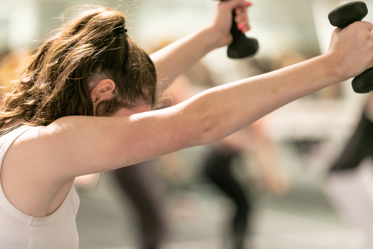 Barre Code offers three different class formats: cardio, strength, and restoration that give class members the option of selecting the specific style of workout they're looking for. Classes are offered daily and can be booked in advance on their website. / Image: Amy Elisabeth Spasoff // Published: 4.15.19