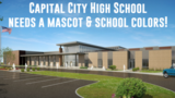 Capital City High School reveals mascot and color choices