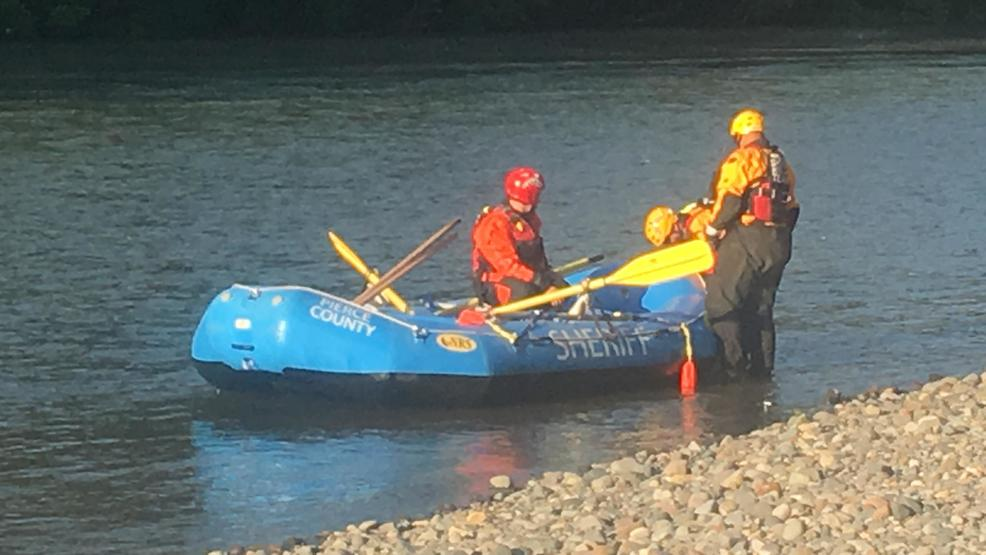 Rescuers search for man who fell into puyallup river while for Puyallup river fishing