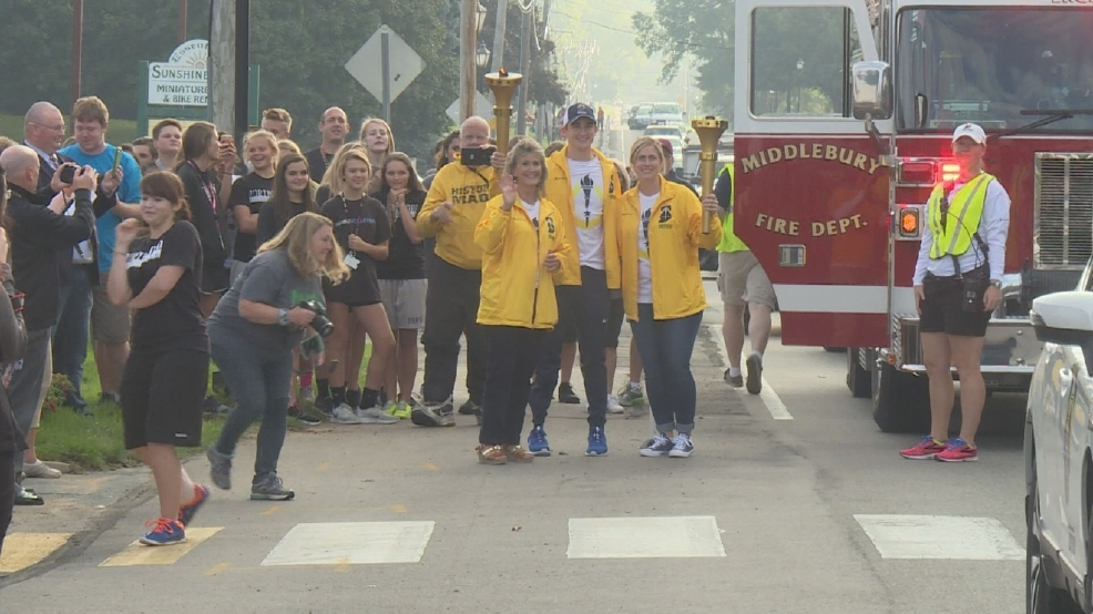 Middlebury sees Indiana Bicentennial torch relay | WSBT