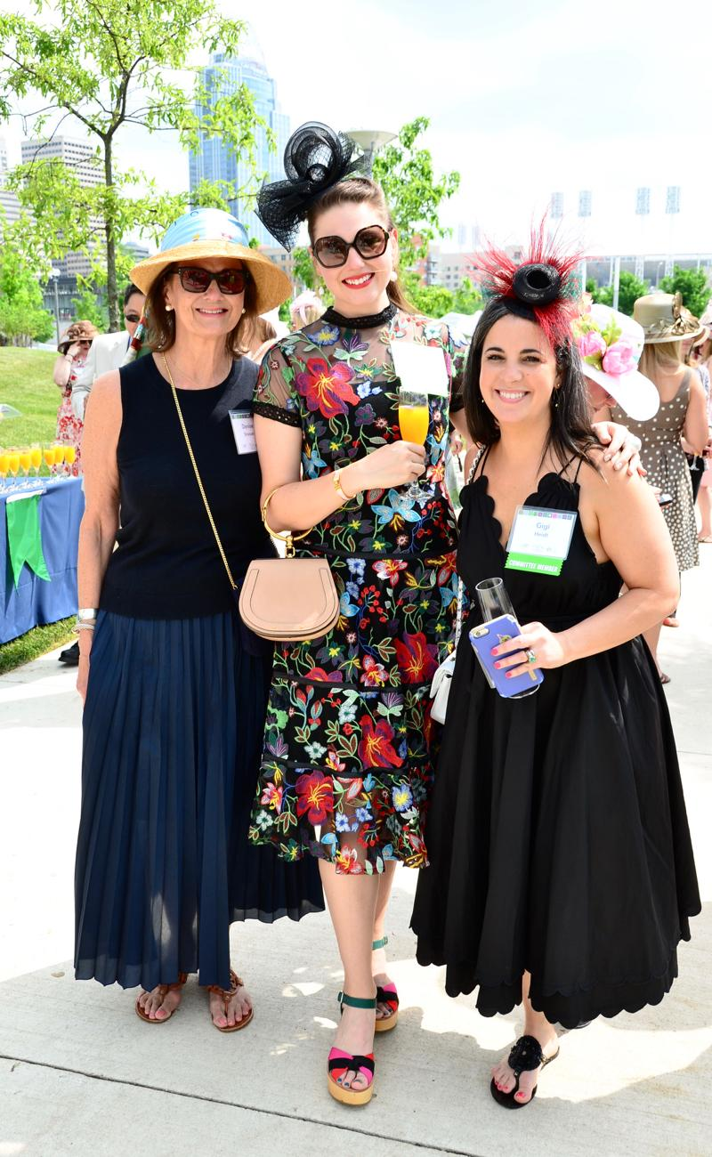 Denise Strasser, Lee Strasser, and Gigi Hiudt / Image: Leah Zipperstein, Cincinnati Refined // Published: 5.18.18